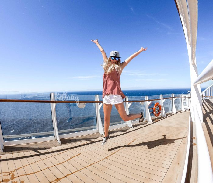 """Onboard the """"Symphony of the Seas"""""""